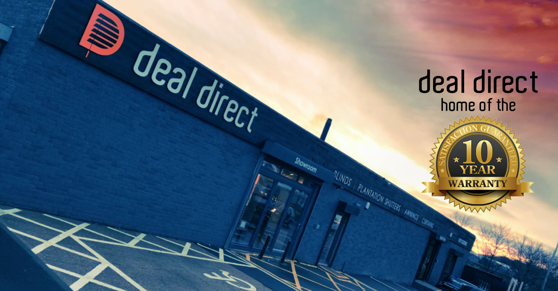 Deal Direct Showroom Outside